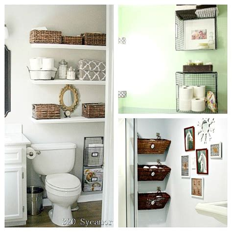 organizing ideas for bathrooms 11 fantastic small bathroom organizing ideas a cultivated