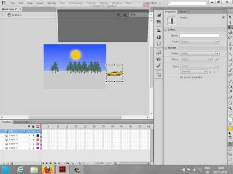 tutorial flash motion guide animation learning guide for flash motion tweens basic
