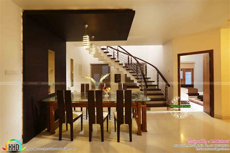 Kerala Style Dining Room Photos Finished House Project In Kerala Home Design Simple