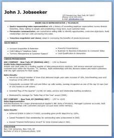 Sale Resume Exles by Inside Sales Representative Resume Sle Resume Downloads