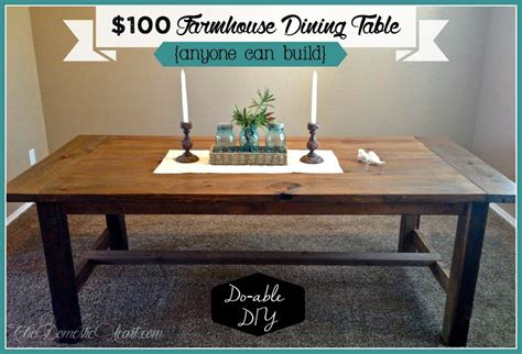 Diy Farmhouse Dining Table by 15 Diy Farmhouse Table To Create Warm And Inviting Dining Area Home And Gardening Ideas