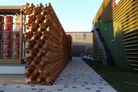 designboom expo 2015 japan pavilion by atsushi kitagawara at milan expo 2015