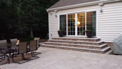 patio steps design exterior patio steps not to code need ideas