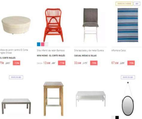 corte ingles outlet online mercadillo online de muebles en el corte ingl 233 s regalos