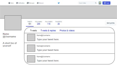 twitter template for google docs twitter template for students covaistech