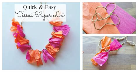 How To Make Hawaiian Flowers Out Of Paper - easy way to make a tissue paper