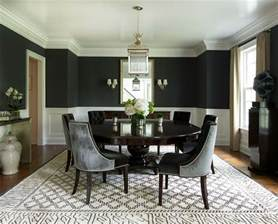 black and rooms how to use black to create a stunning refined dining room