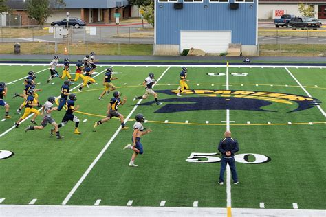 Barier The Football House by Forks Field Of Dreams Set To Debut Peninsula Daily News