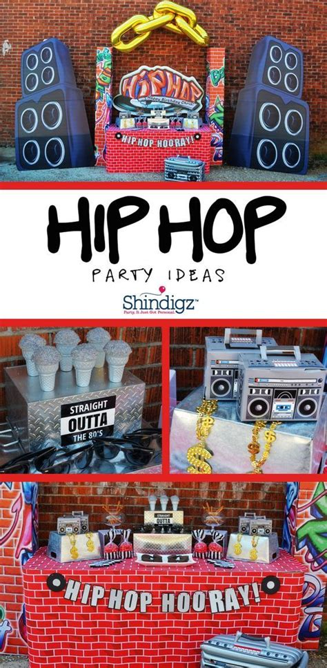 90s hip hop party decorations take it old school with greygreydesigns at her hip hop