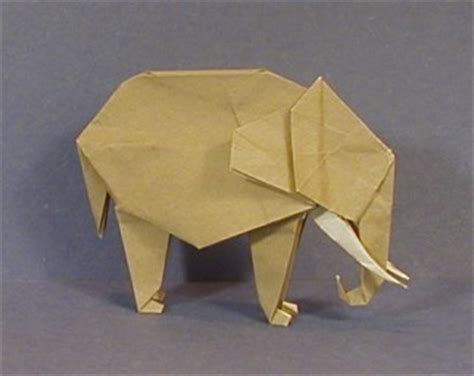 Animal Origami For The Enthusiast - elephant animal origami for the enthusiast the