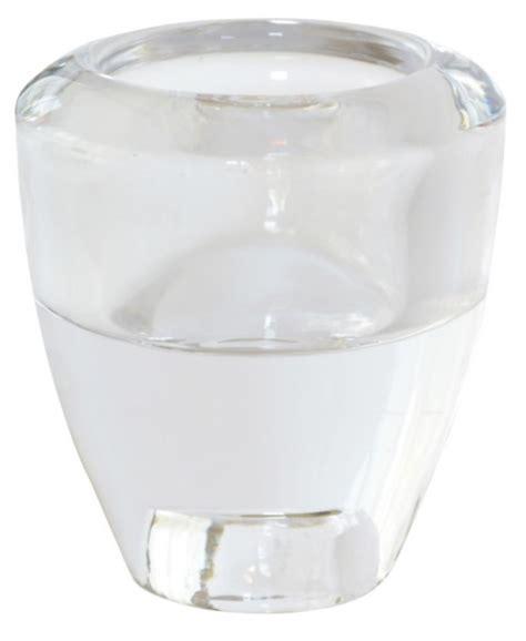 teelichter glas kerzenhalter f 252 r teelichter und spitzkerzen glas 6er set