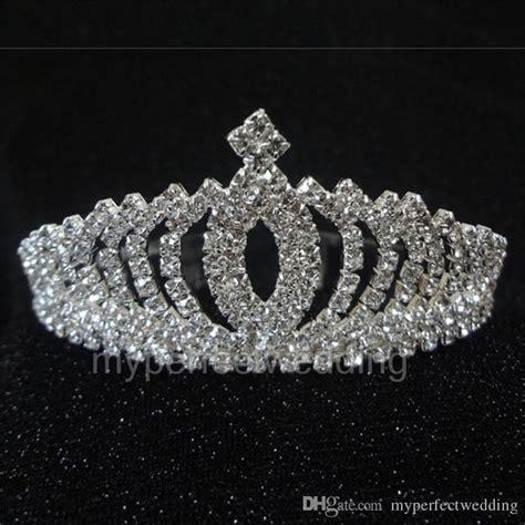 real photo vintage crystal tiara bridal hair accessories