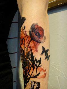 needle tattoo kata poppies tattoo and design by ka ta https www facebook