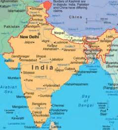 Map Of India And Surrounding Countries pics photos blank map of india and surrounding countries