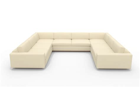 u shaped sofa sectionals u shaped sectional with chaise design homesfeed