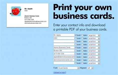 print your own business cards free template dcp print free business cards choice image card design