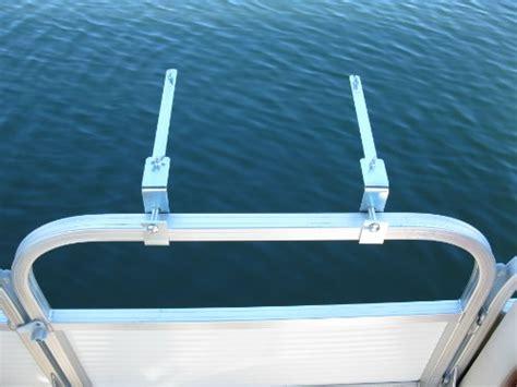 boat grill holder long island drag racing store arnall s pontoon