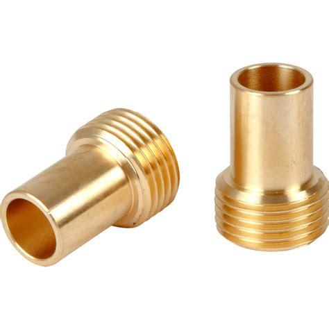 Plumbing Connectors New 2x Tap Adaptors 15mm X 3 8 Quot Plumbing Water