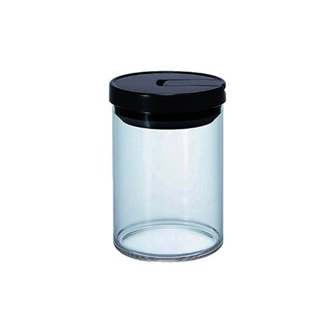hario glass canister black mcn 200b
