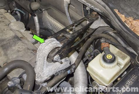 how do cars engines work 1998 volvo v70 auto manual volvo v70 upper engine mount replacement 1998 2007 pelican parts diy maintenance article