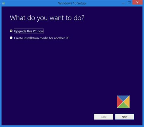 install windows 10 media windows 10 media creation tool create installation media