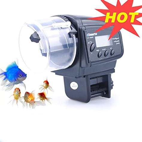automatic feeder with timer lychee aquarium automatic fish food tank feeder timer auto feeder pets top store