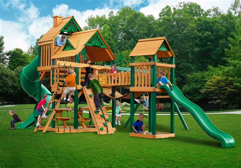 swing set clearance sale lowest price gorilla treasure trove i playset free