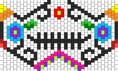 online kandi pattern maker sugarskull bead pattern peyote bead patterns misc bead