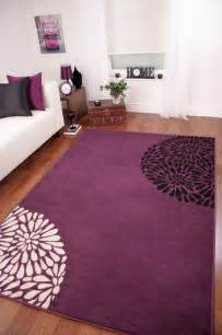 small large purple aubergine modern shiraz rug quality new