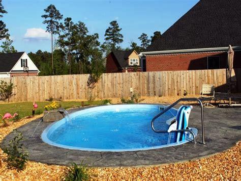 small inground fiberglass pool kits house outdoor pool
