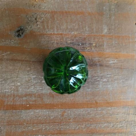 Green Glass Drawer Knobs by Small Green Glass Drawer Knob By Grey Interiors