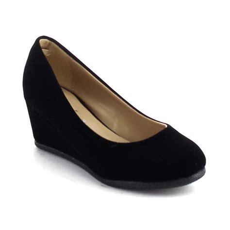 wedge dress shoes new slip on pumps heel platform wedge dress shoes