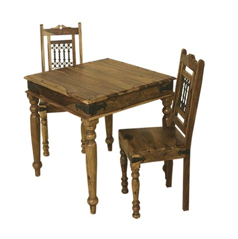 compact dining tables bali sheesham 90 x 90 compact square dining table