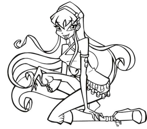 coloring pages for winx club easy winx club coloring pages bestappsforkids