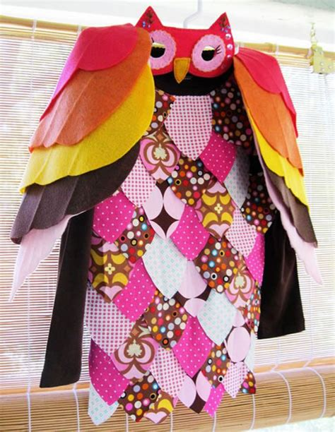 Handmade Owl Costume - adorable owl costume jpg