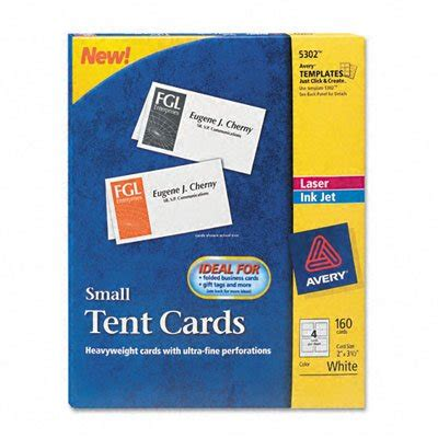 avery 2 x 3 5 business card template avery small tent cards 2 x 3 5 inches white box of 160