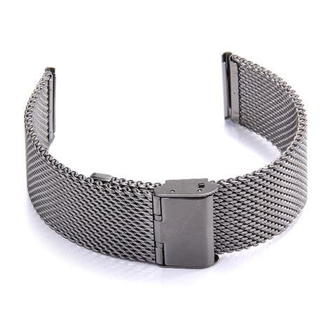 Apple 2015 Stainless Classic Buckle 38mm Silver With 38mm Milanese Classic Buckle Stainless Steel Watchband