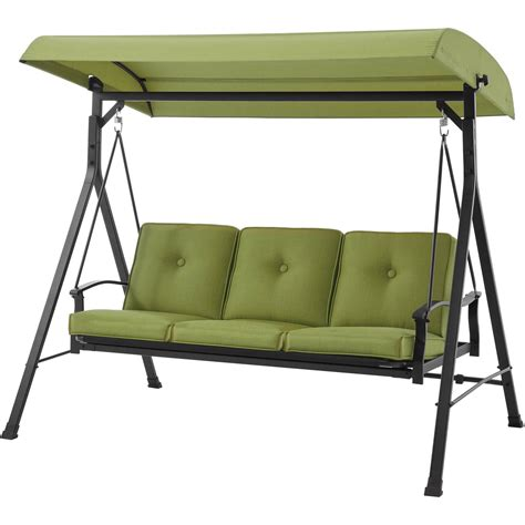 Patio Swing Bed With Canopy by Metal Porch Swing Bed With Canopy Outdoor Patio Rocker