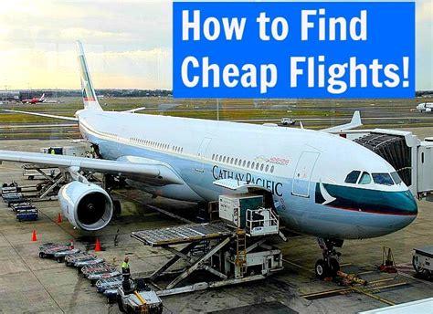 find cheap flights  tips   websites