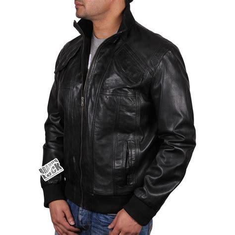 bomber jacket leather s black leather bomber jacket elliott