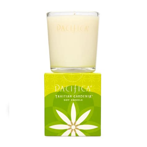 Gardenia Candles Pacifica Tahitian Gardenia Soy Candle 160g Feelunique