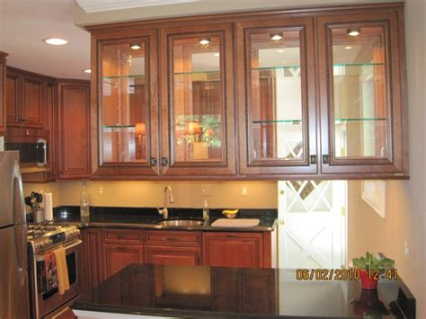 kitchen cabinets with glass doors kitchen cabinets glass doors marceladick