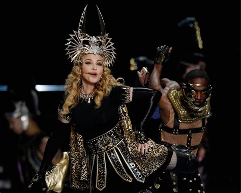 Madonnas Televised Appearance by Madonna Live At The Bowl Halftime Show Pictures