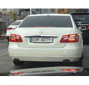 """""""German EU"""" License Plate In Seoul &187 A Gentleman Who Lunches"""