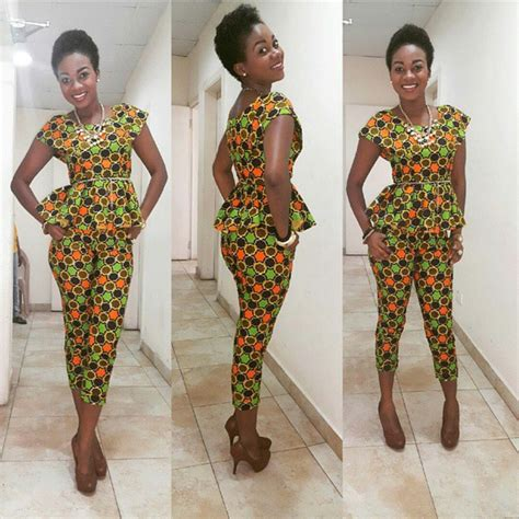 ankara trouser style beautiful ankara top and trouser styles you should try