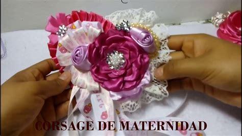 Corsage Para Baby Shower by Corsage Para Baby Shower De Ni 241 A Distintivo