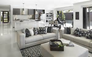 Gray Living Room What Color Kitchen Metricon Great Colour Scheme And Those Shelves On