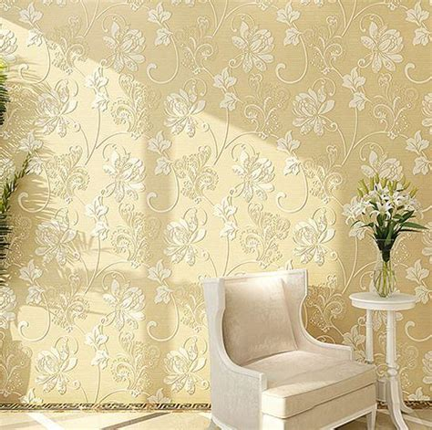 wallpaper in home decor modern romantic floral 3d room wallpaper home decor