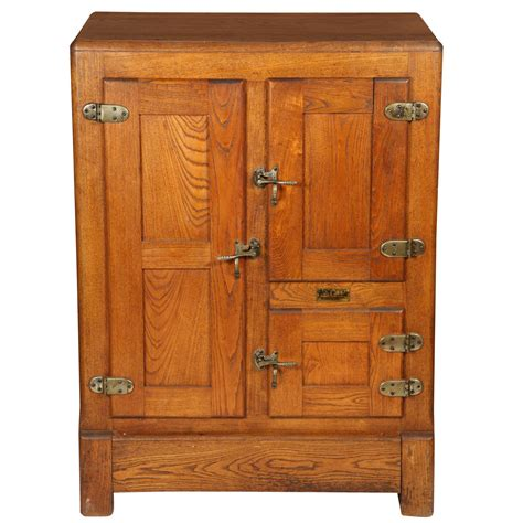 1930s Home Decor by Antique Oak Ice Box At 1stdibs