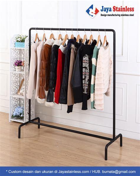 rak gantungan baju jsrb  clothing display rack pt bumi mataritama